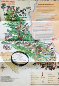 Bosnia 2016 - Day 1 -Map